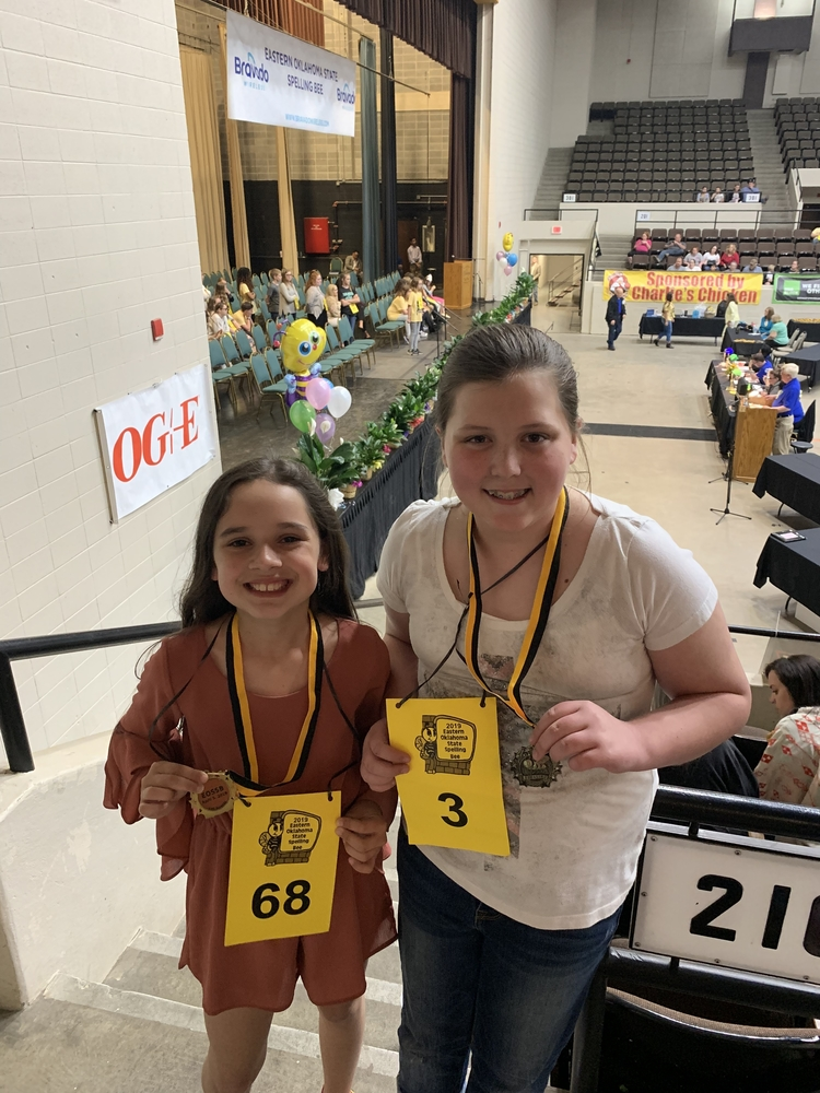 Students Compete in Eastern Oklahoma State Spelling Bee