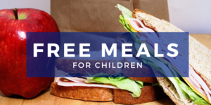 Free Meals Ages 0-18