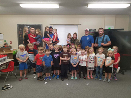 Arkoma FIrefighters Educate Students