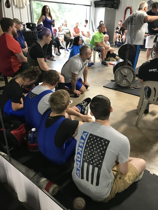 1st powerlifting contest!!