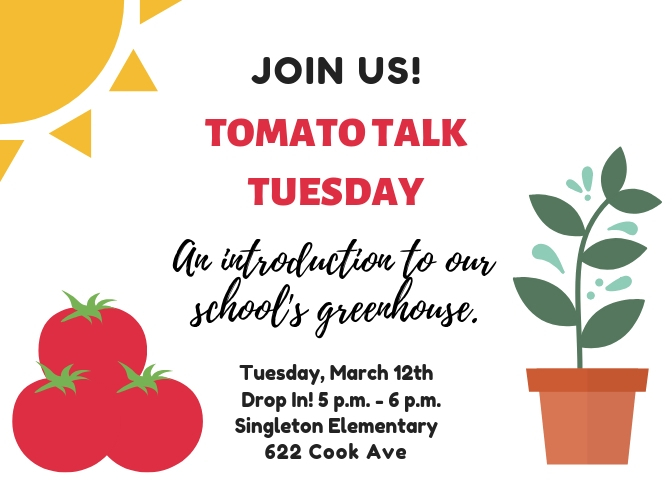 Tomato Talk Tuesday
